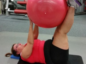 personal training reduced back pain